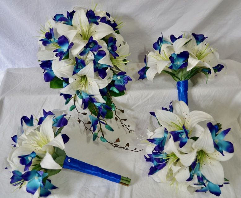 buy silk wedding flowers online wedding bouquets online