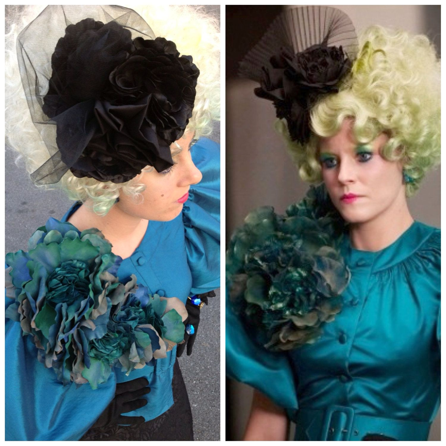 Effie Trinket Costume Hunger Games Costume, Wig, and Accessories ...