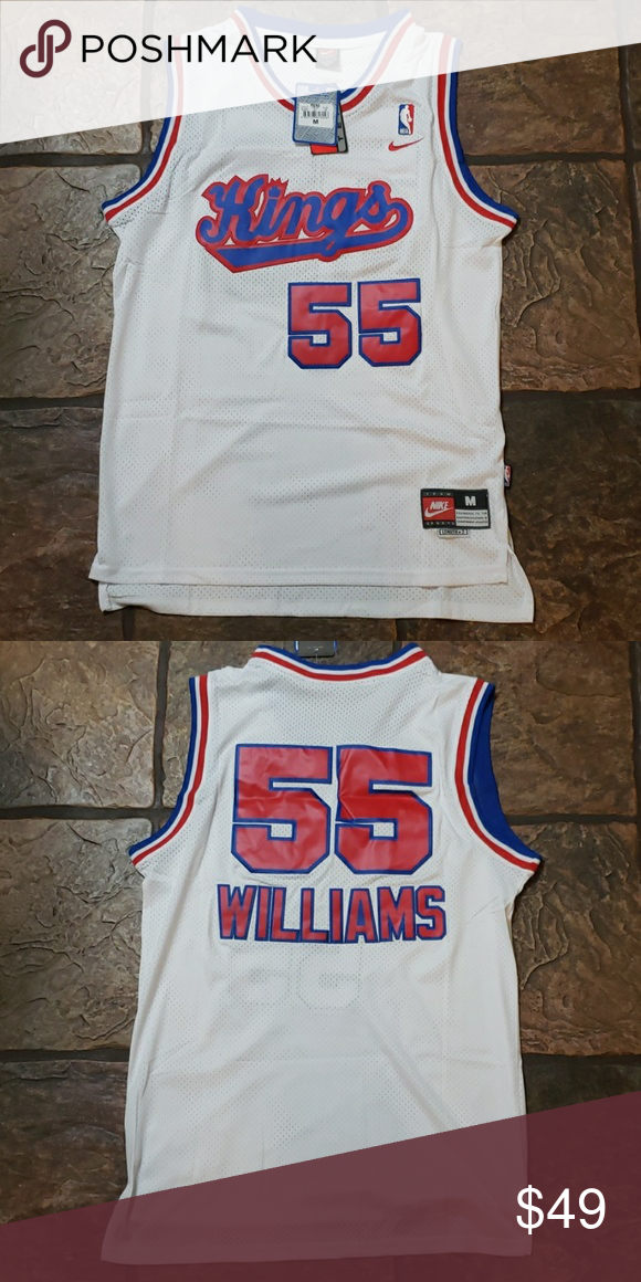 8307d7b5a Jason Williams - Kings Throwback Jersey Brand New w tags Men s Size Medium  (+2 length ) Stitched 💯 Money Back Guarantee 🏀🏀💥💥 Nike Other