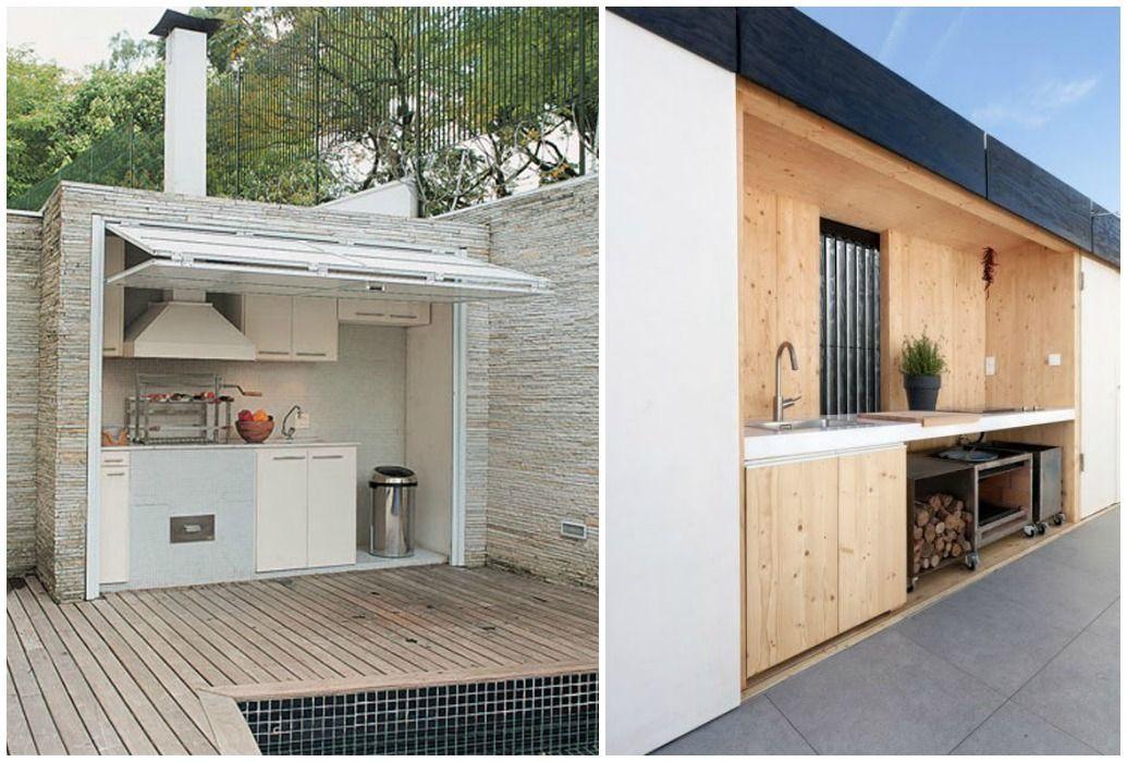 04-cocina-exterior-oculta Ideas para el hogar Pinterest
