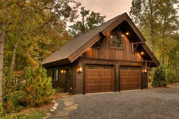 Washburn Lake rustic-garage in 2019 | Small cottage homes ...