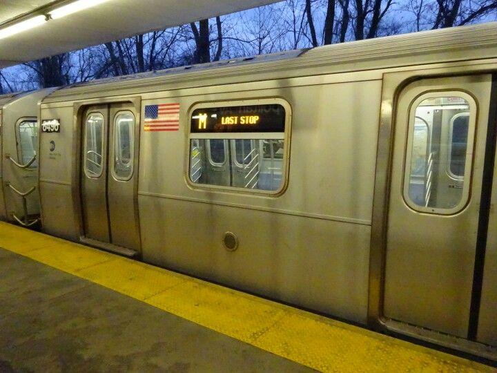 MTA Subway Middle Village/Metropolitan Ave (M) New
