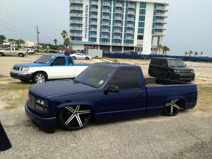 Pin By Tray Long On Car Shit Custom Chevy Trucks Chevy Silverado Truck