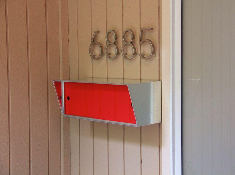 Beautiful Neutra Mailbox To Go With My Neutra