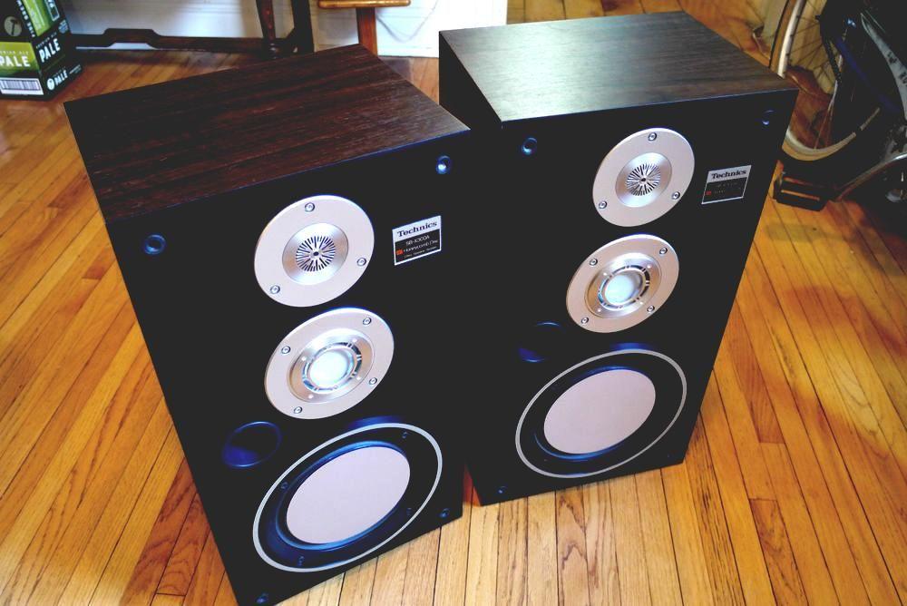 Rare Vintage Technics Sb X300a Speakers Loudspeakers 80 S