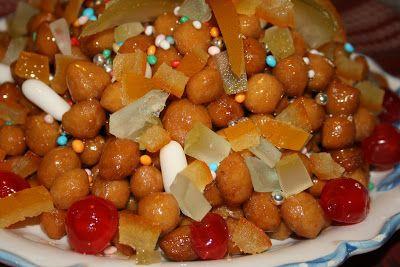 le ricette di lia: struffoli