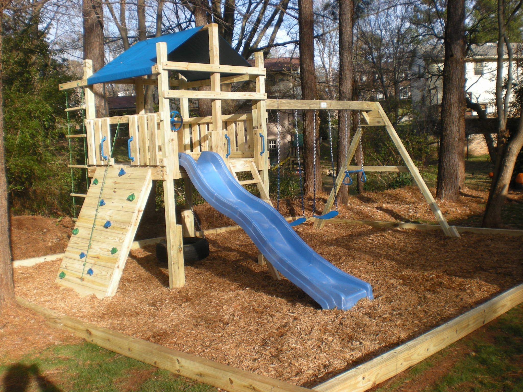 backyard play structure outdoor ideas pinterest backyard