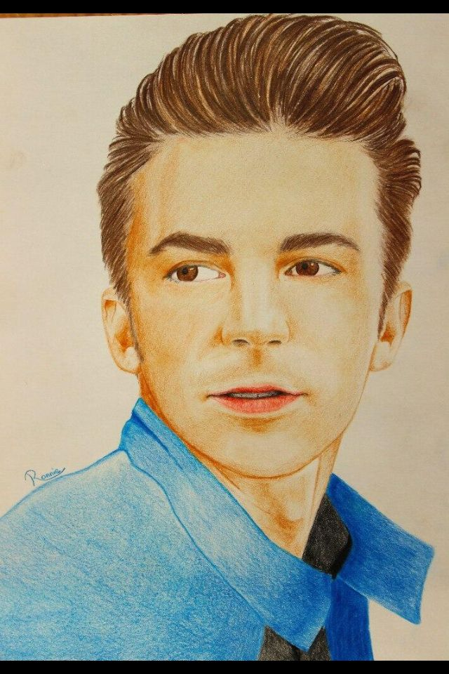 Drake Bell Drake Bell Male Sketch Art