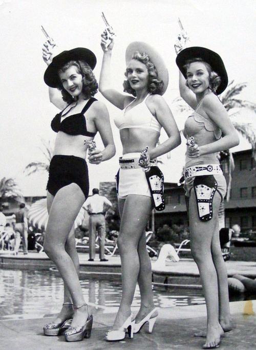 Girls With Guns Corinne Calvet Marie Wilson Diana