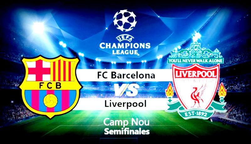 Barcelona X Liverpool Ao Vivo Onde E Como Assistir Hoje 01 05 A Disputa Pela Champions League Liverpool Champions League Barcelona