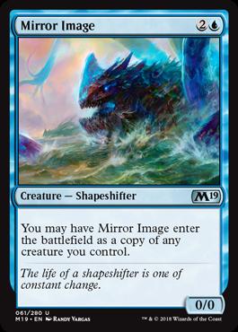 2x Mirror Image Core Set 2019 M19 Spiegelbild