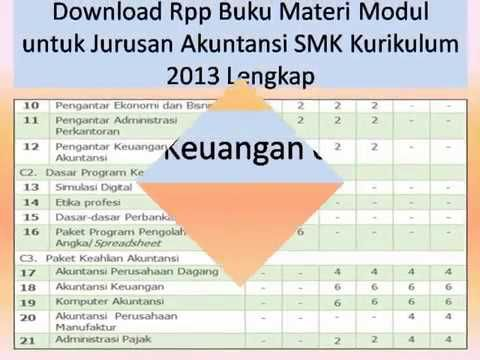 Dapatkan Download Rpp Buku Materi Modul Untuk Jurusan Akuntansi Smk Mak Kurikulum 2013 Lengkap Kelas X Xi Xii Semester 1 Dan 2 Buku Akuntansi Kurikulum