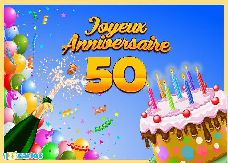 Carte Joyeux Anniversaire 50ans Joyeux Anniversaire 60 Ans 60 Ans Anniversaire Joyeux Anniversaire 30