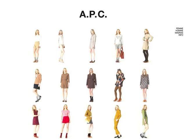 A.P.C. PRESS SITE by petronio associates