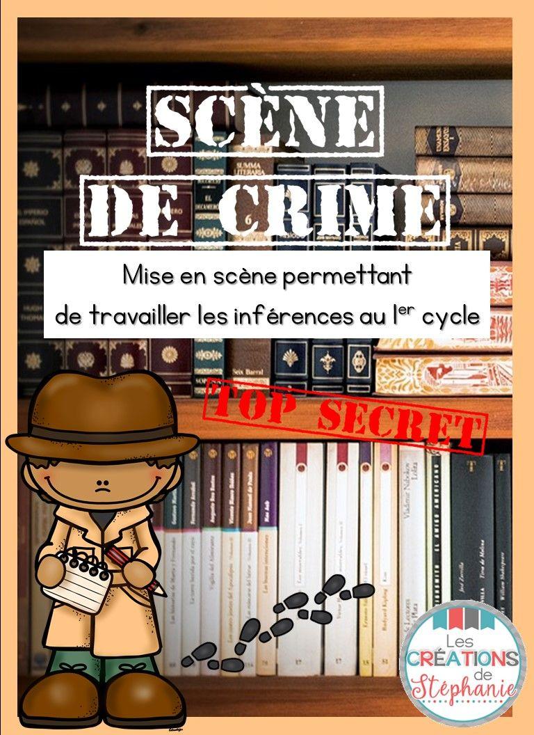 Épinglé par Sylvie Cloutier sur École   Scène de crime, Mieux enseigner et Crime