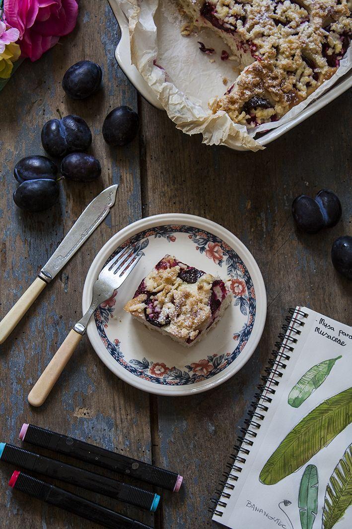 Wegan Nerd Kuchnia Roslinna Ciasto Drozdzowe Ze Sliwkami I Kruszonka Food Acai Bowl Breakfast