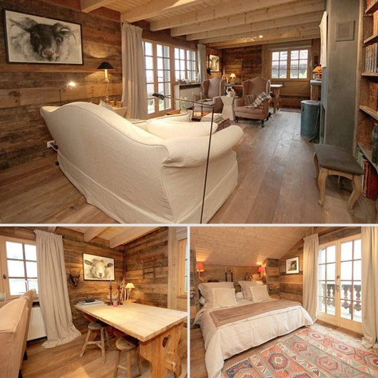 Dreaming of a Swiss chalet getaway in this Airbnb rental!