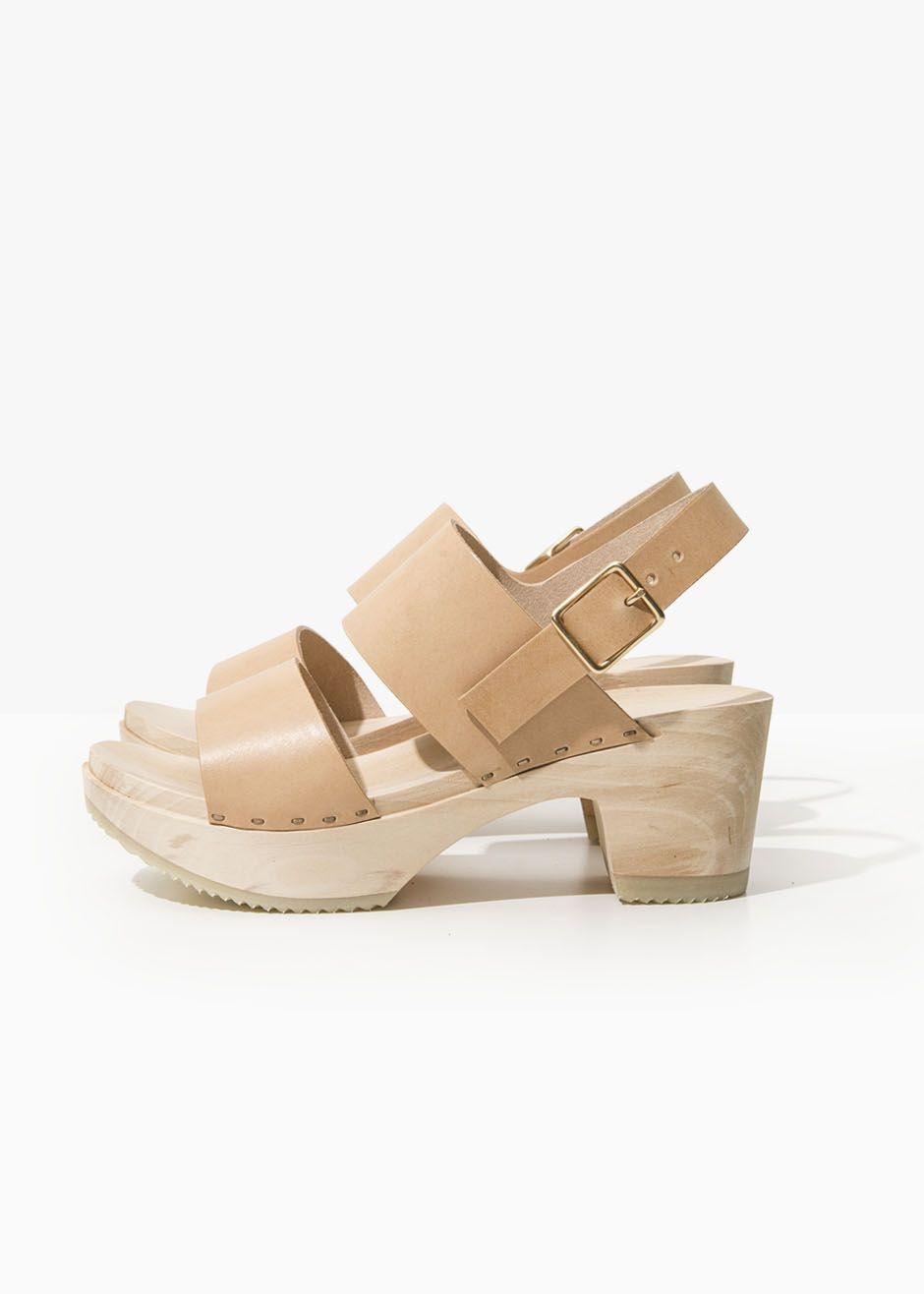 b7d44cfec5a0 CLOG SANDAL – NATURAL – Zuzii Footwear – Made in LA