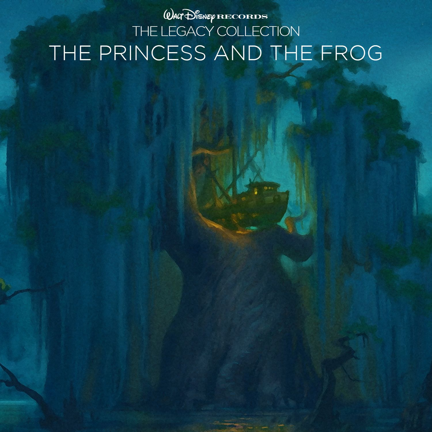 Custom artwork for 'The Princess and the Frog' in the style of Disney's The Legacy Collection. I used concept art from the film for this one.