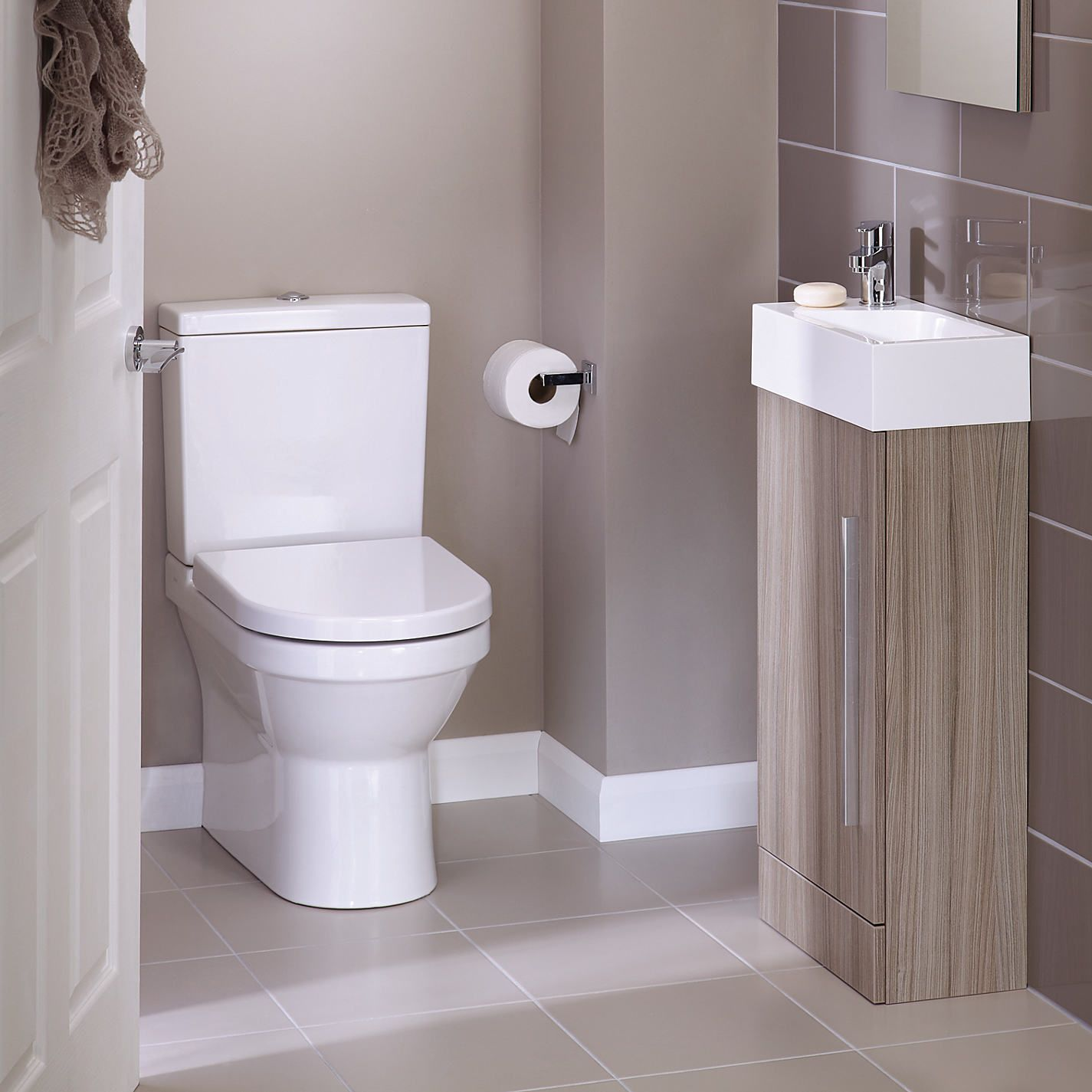 Small cloakroom ideas google search for the home for Narrow bathroom ideas uk
