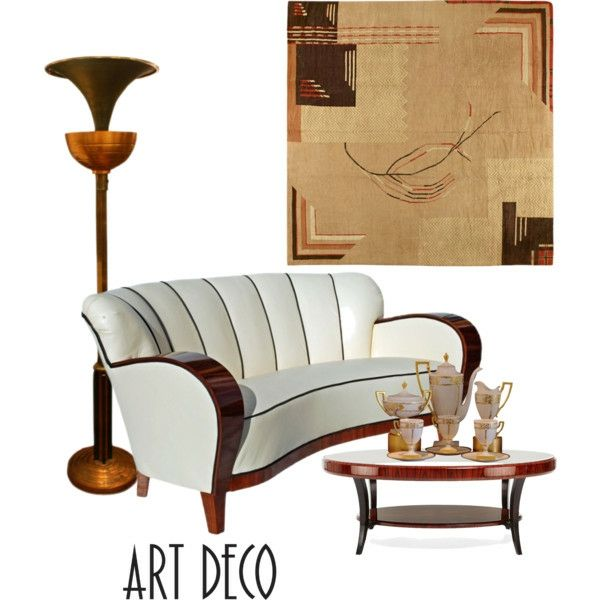 Art Deco Style And Its History Art Deco Furniture And Lamps