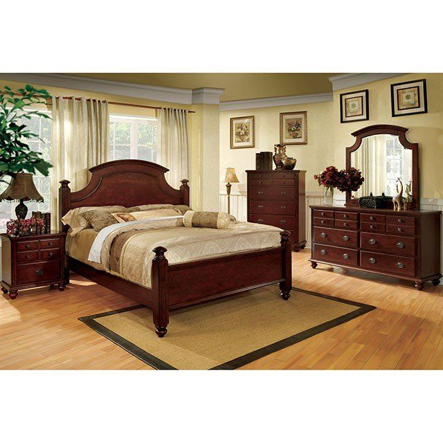 Furniture Of America Gabrielle II 4 Piece Bedroom Set in ...