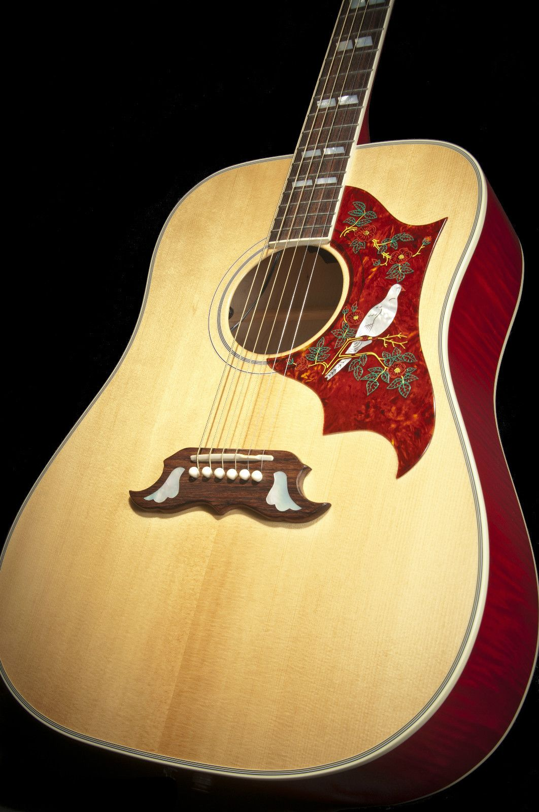 gibson dove acoustic electric guitar w hard case strings things in 2019 electric guitar. Black Bedroom Furniture Sets. Home Design Ideas