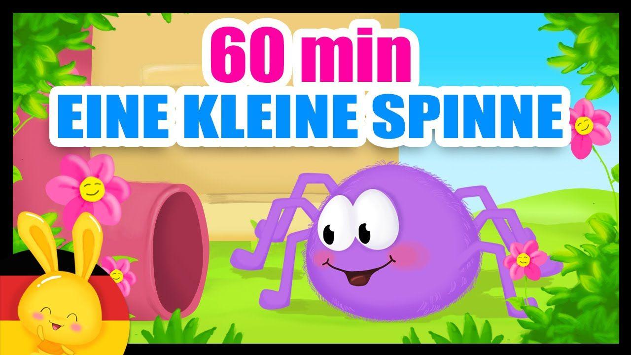 Eine Kleine Spinne - Die klitzekleine Spinne- Kinderlied auf deutsch ...