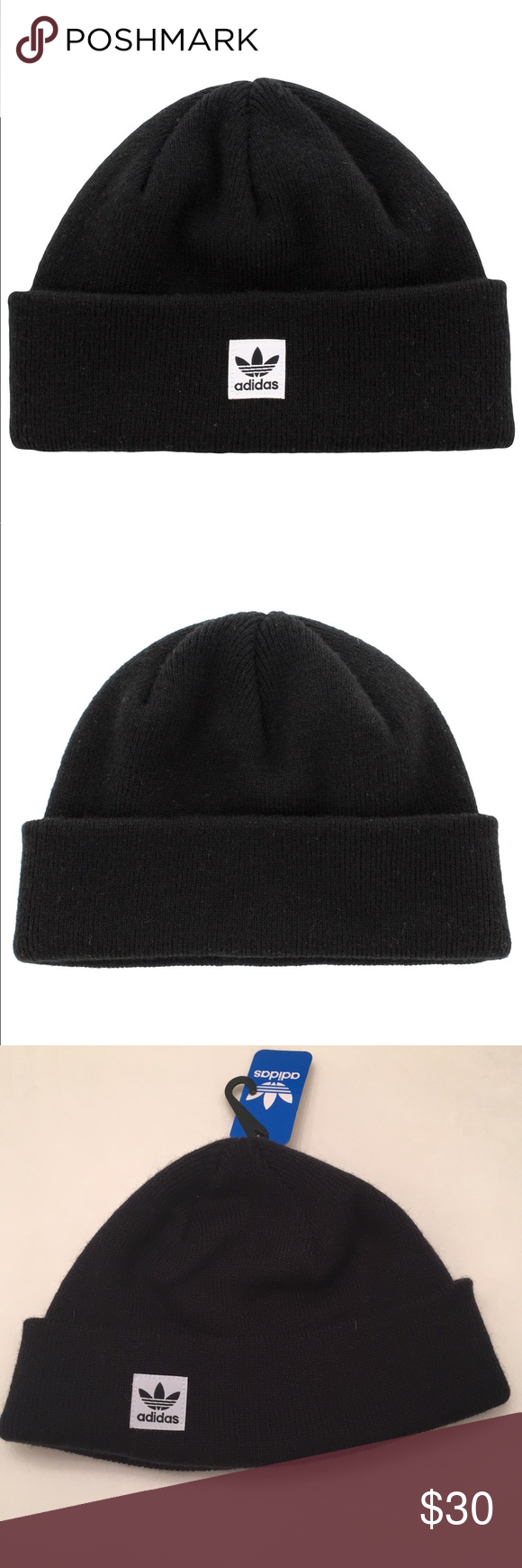 c9bb7626402 adidas Mens Originals Starboard Knit Beanie This adidas Originals starboard  knit beanie gives you the best