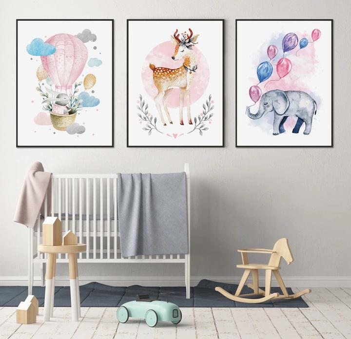 Plakat Obrazki Dla Dziecka Zestaw 3 Grafik A3 8598289513 Oficjalne Archiwum Allegro Home Decor Decals Kids Rugs Girls Bedroom