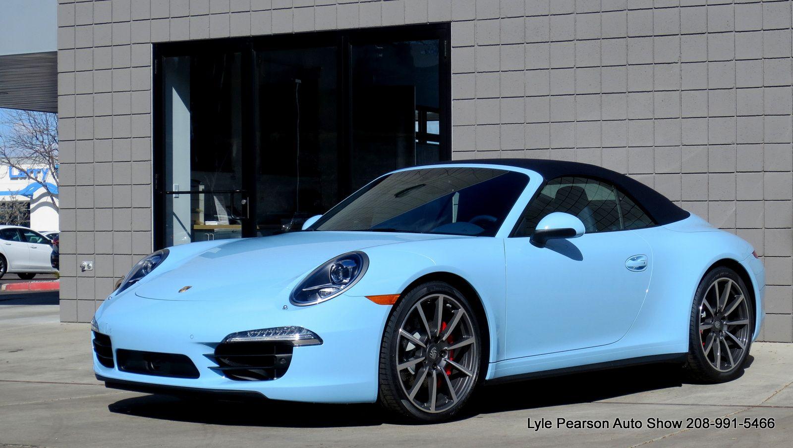 Porsche 9112 C4s Cabriolet In Paint To Sample Gulf Blue Porsche 911c4s 911cabriolet Porsche Cabrio Porsche 991 Porsche