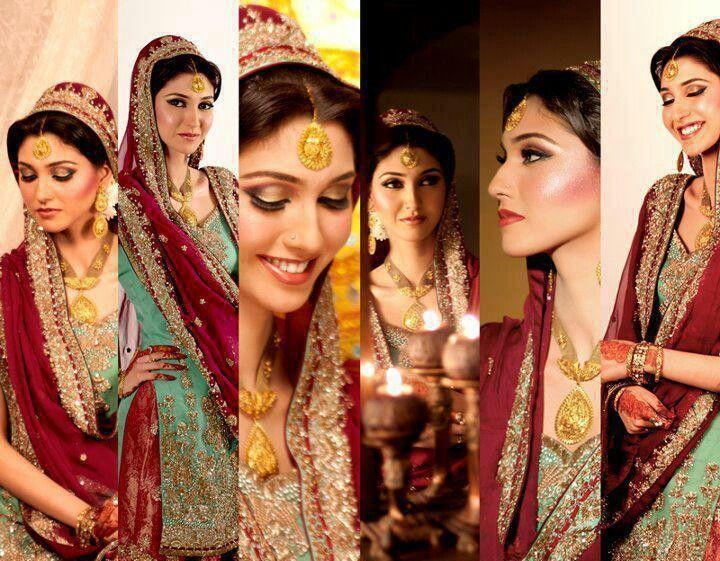 Uzma S Mehndi Makeup : Bridess dresses i like