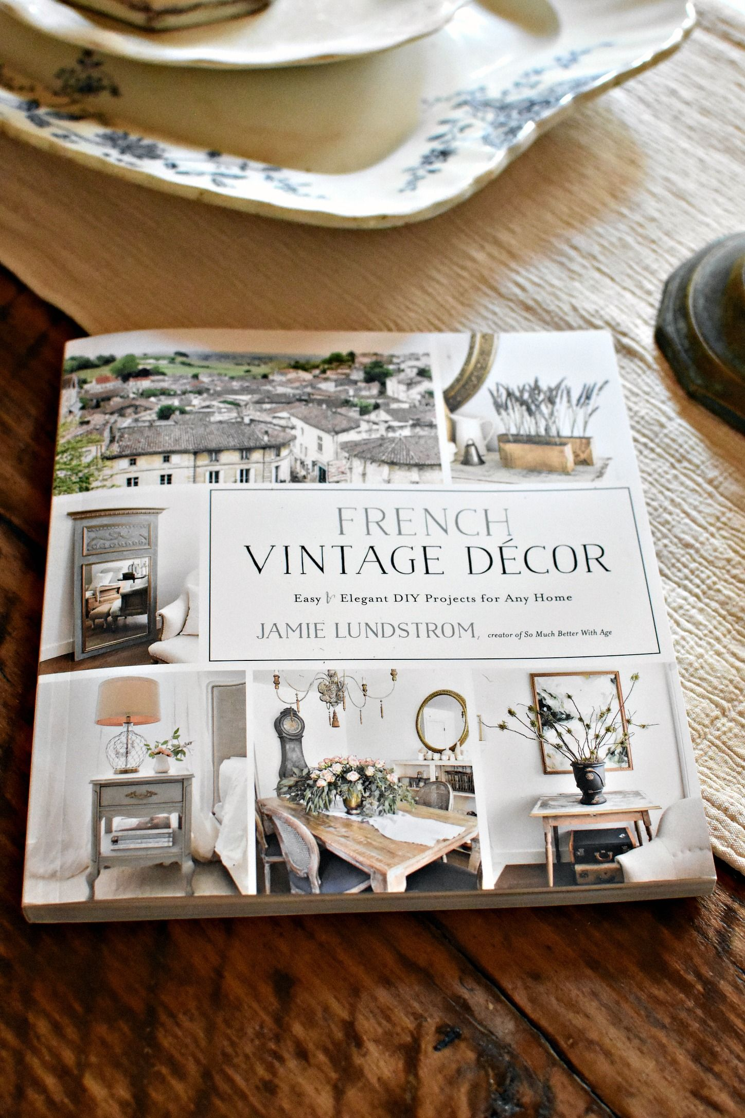 DIY French Farmhouse Style Vintage Foot Stool Makeovers