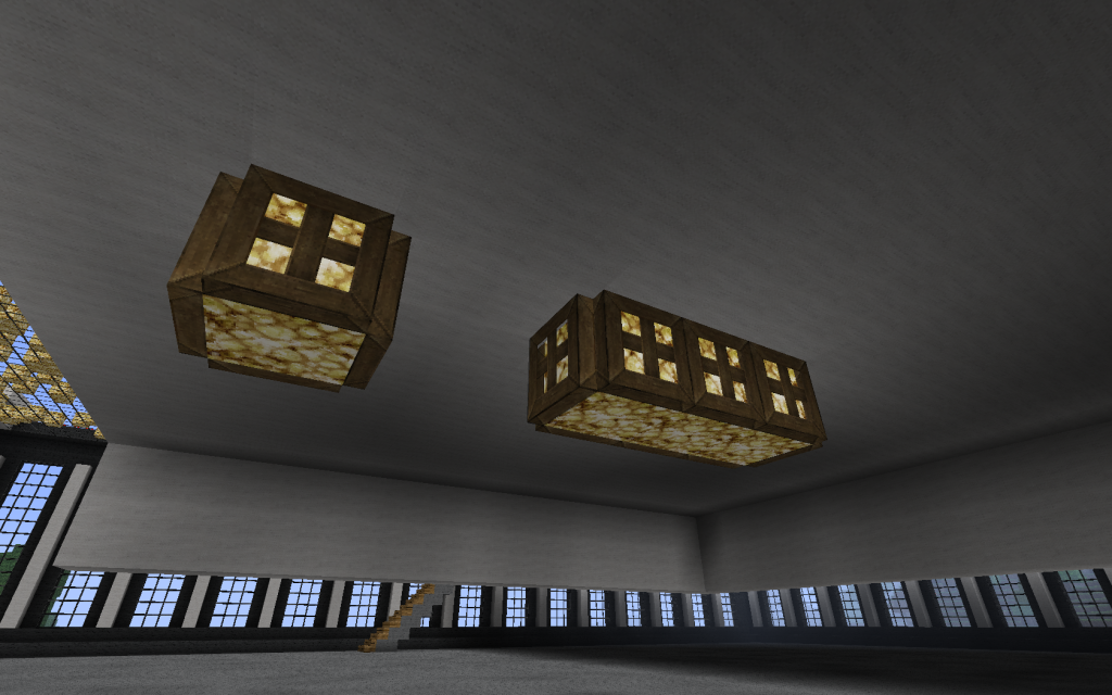 Fun With Hatches Designs And Ideas Minecraft Blog Minecraft Designs Minecraft Ceiling Lights