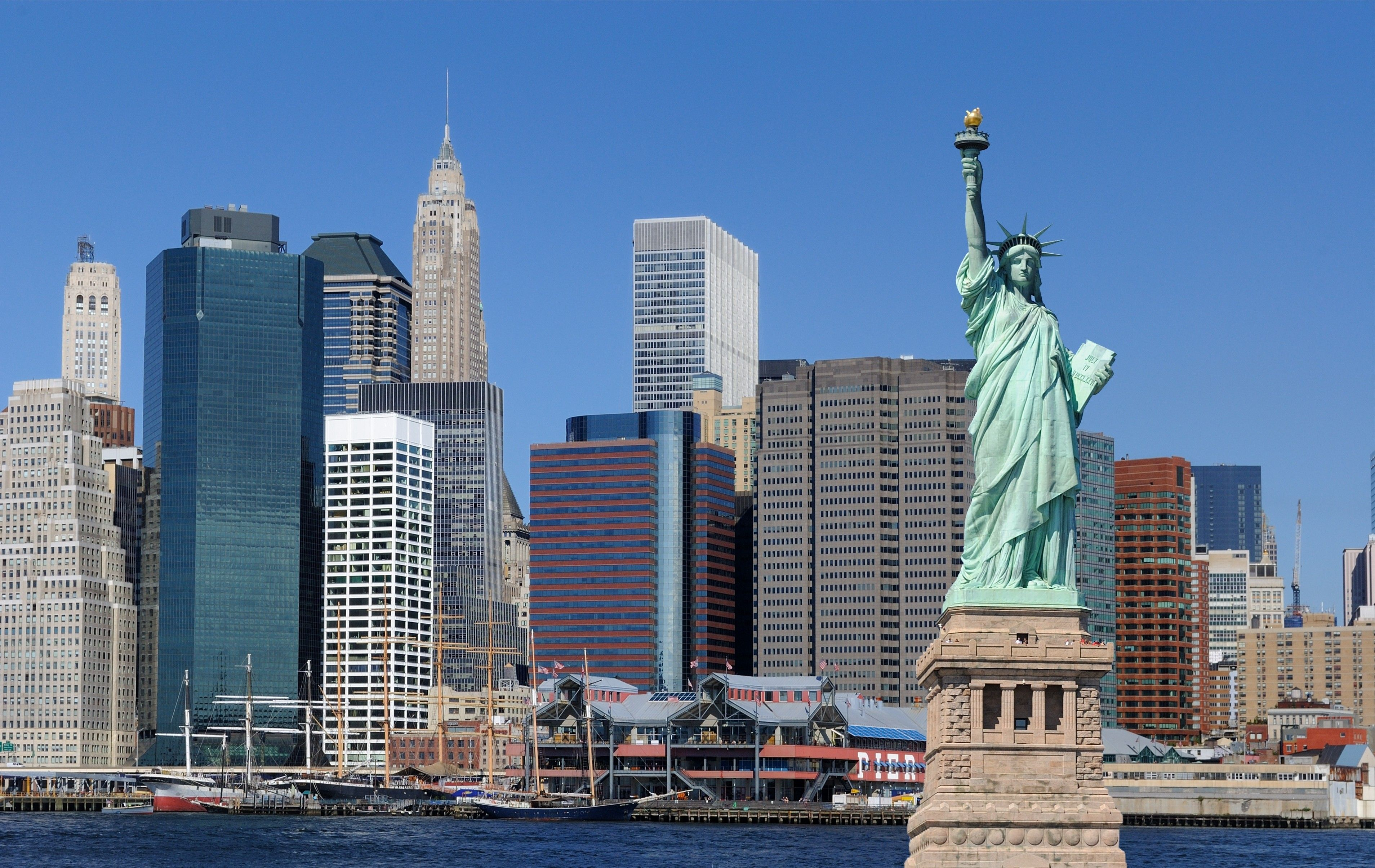 Statue Of Liberty Widescreen Hd Wallpapers Free Wallpapers