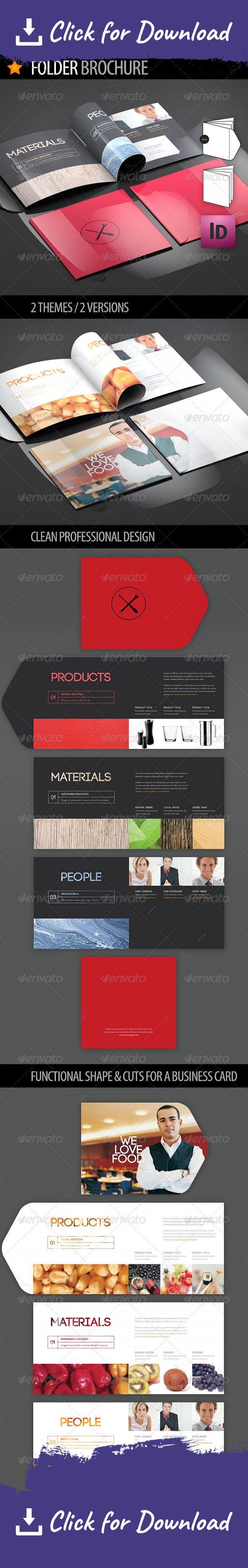 Folder Brochure | Brochures and Business cards