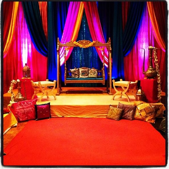 Mehndi Decoration Simple : Mehndi stage wedding inspirations pinterest