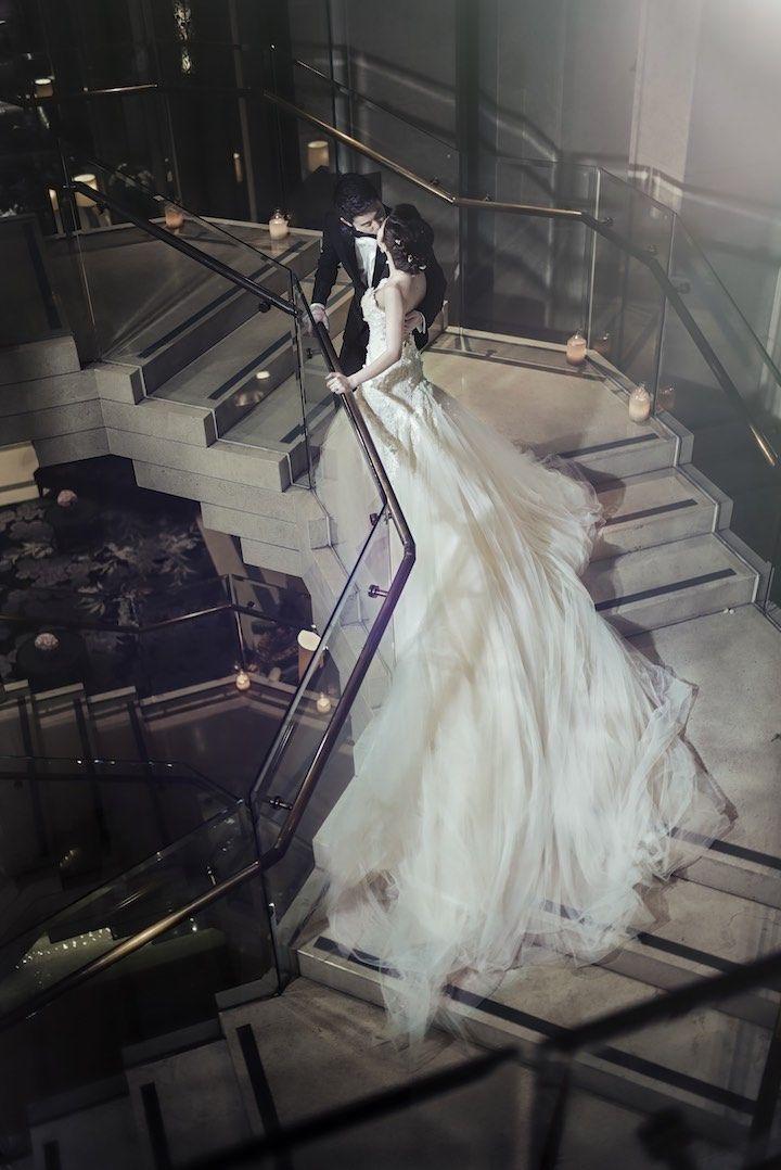 Featured Photographer: Sixtysix Visual; wedding dress idea