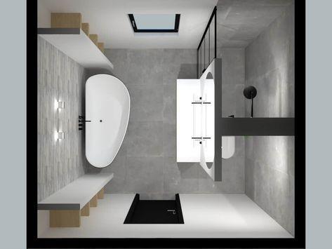 Photo of Zwei schöne Badezimmer / De Eerste Kamer Badezimmer mit Charakter # Badezimmer #be …