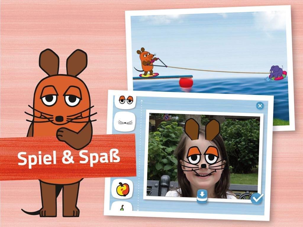 Die Maus App Die Sendung Mit Der Maus Fur Android Ipad Iphone Apps Fur Kinder Coole Apps Ipad App