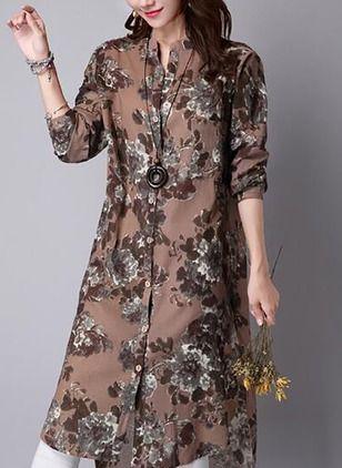 08d12667b34bd7 Nieuwste modetrends in Women s Overhemd. Winkel online voor modieuze dames  Overhemd in Floryday - uw favoriete mode online winkel.