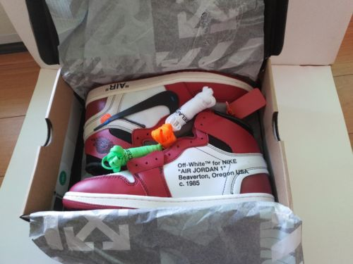 fed69c0aab80d3 Details about Air Jordan 1 x OFF WHITE  Chicago  Size 10  Deadstock ...