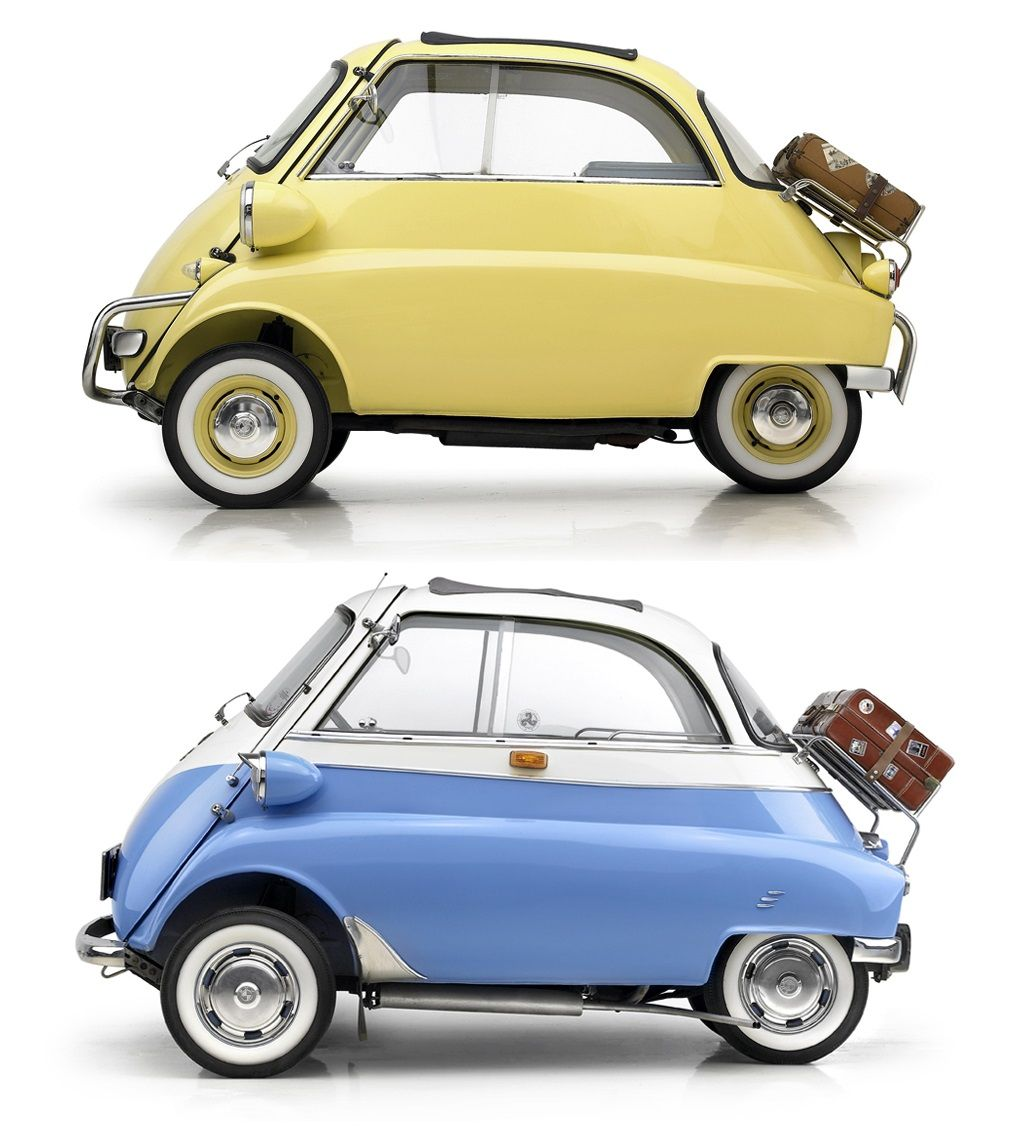 Vintage BMW Isetta Experiences and Sales BMW produced three versions ...
