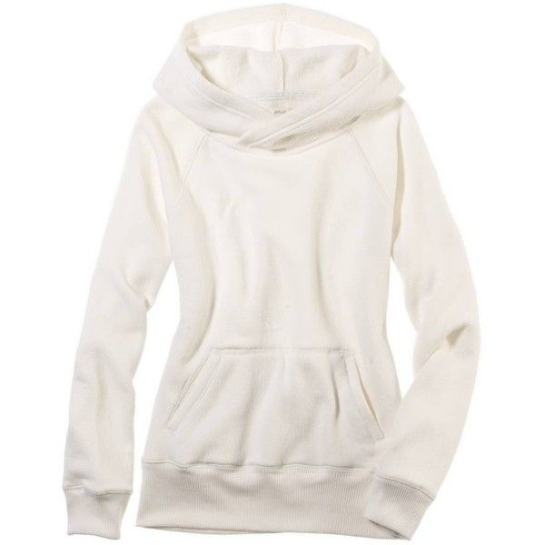 American Eagle Outfitters Aerie Crossover Hoodie ($40) ❤ liked on Polyvore