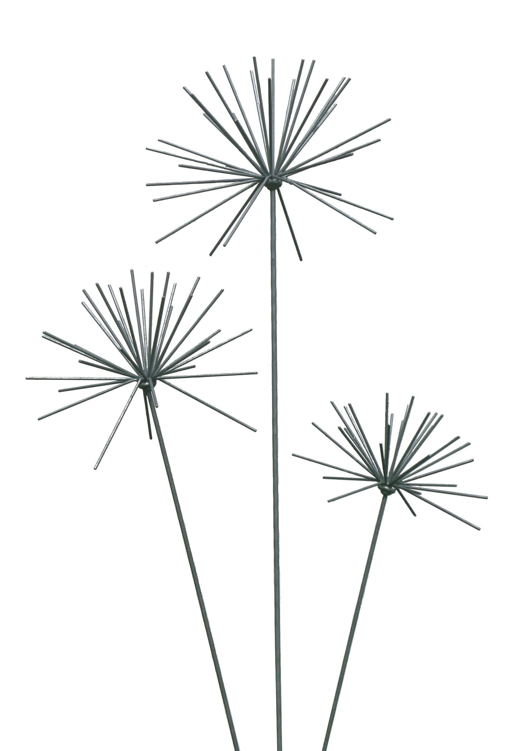 A Newly Cut Out Shot Of Our Allium Sculptures Www.ironvein.co.uk Metal  Garden Sculpture Steel Garden Sculpture
