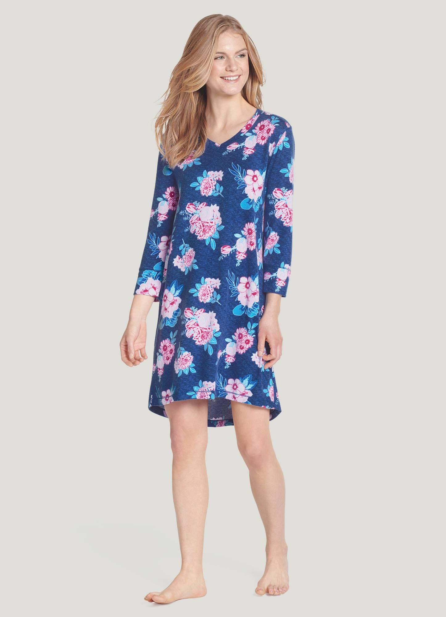 Jockey Womens Sleepwear Brilliant Blooms Short