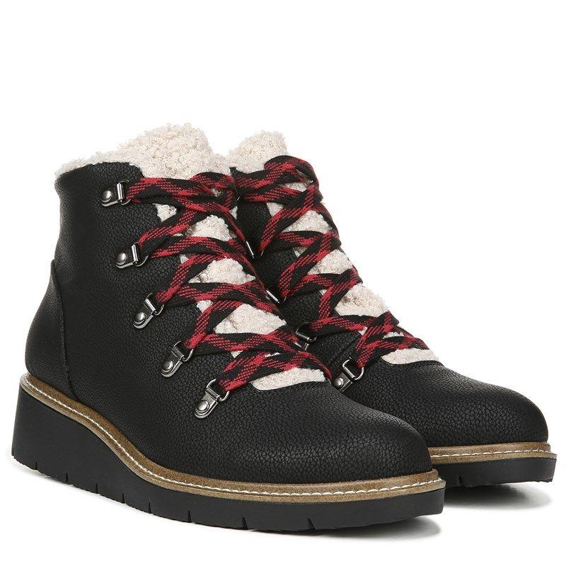 Dr. Scholl's So Cozy Lace Up Bootie Shoes