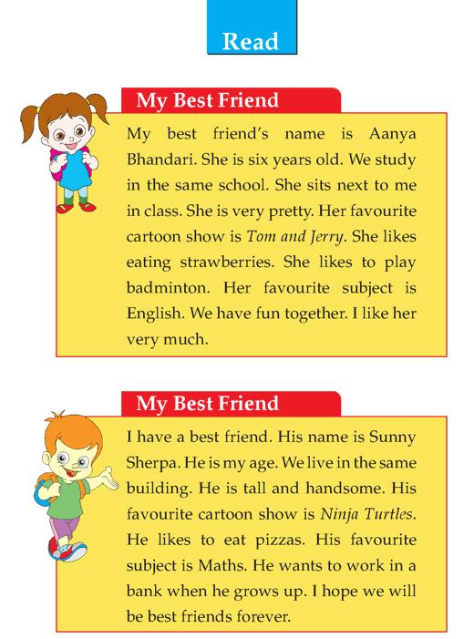 Descriptive essay about my best friend