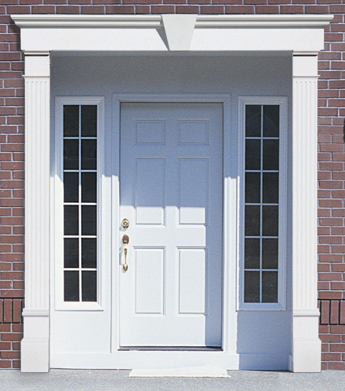 Exterior Vinyl Door Headers Exterior Door Trim Georgian Doors Door Header