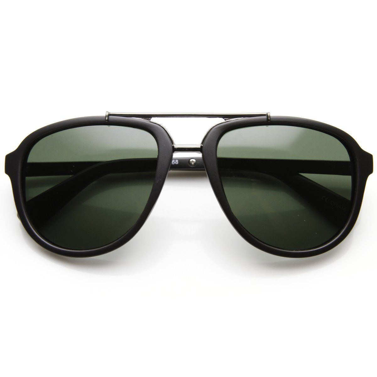 Retro Modern Dapper Mens European Roadster Square Aviator Sunglasses ...